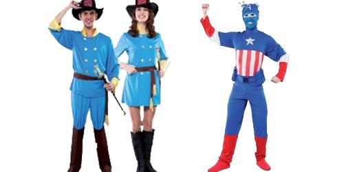 confederados adulto capitan azul