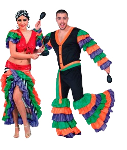 disfraces tematicos paises brasilenños