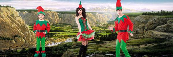 Disfraz de Elfo Adulto Infantil