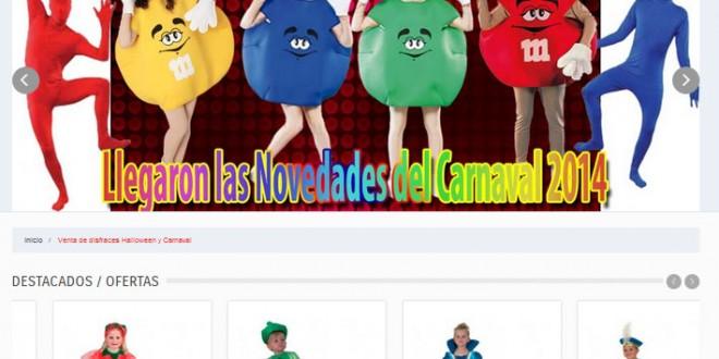 Os presentamos www.lacasadelcarnaval.es